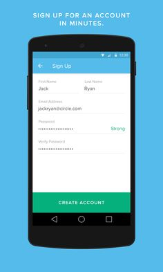 Circle for Bitcoin Material Design Examples, Android Material Design, Android App Design, Circle App, Android L, Cnn Money, Ui Inspiration, Free Fun, App Ui