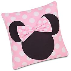 Minnie Mouse Decorative Pillow for baby girl's nursery
