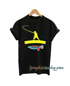 Fishing tee shirt for adult men and women. This t-shirt is everything you've dreamed of and more. Cool Graphic Tees, Cool Tees, Funny America Shirts, Tee Shirt Designs, Great T Shirts, Funny Tees, Apparel Design, Printed Tees, Clothing Company