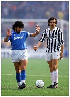 Maradona - Platini