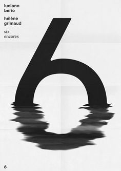 I was drawn to how such a simple and flat subject, the 6, was activated with such dimension.