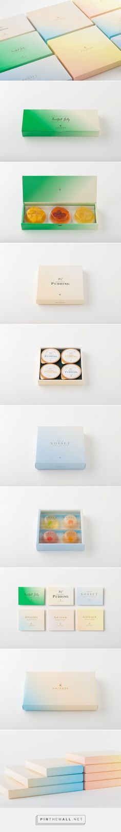 Branding, graphic design, logo and packaging for ANTÉNOR SUMMER GIFT by UMA…