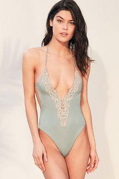Blue Life Mirage Halter One-Piece Swimsuit