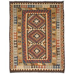 Maimana kelim - szövött keleti szőnyeg - BK 72157 Bohemian Rug, Decorating, Rugs, Home Decor, Decor, Farmhouse Rugs, Decoration, Decoration Home, Room Decor