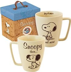 Snoopy then and now Mug