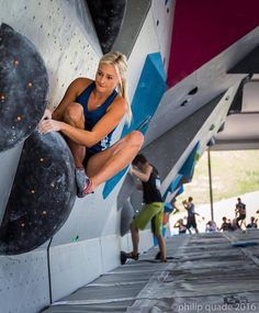Sierra Blair-Coyle - Sometimes starting boulders is hard