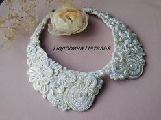 Items similar to Dainty white trendy choker, beaded pearl removable collar, necklace Soutache Hand Embroidery Jewelry, beloved gift on Etsy Bride Necklace, White Pearl Necklace, Beaded Choker Necklace, White Earrings, Collar Necklace, Pearl White, Pearl Choker, Soutache Bracelet, Soutache Jewelry
