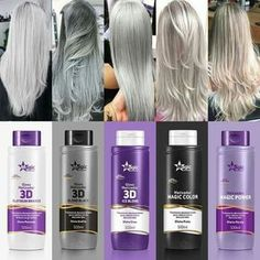 Grey Hair Wig, Dark Grey Hair, Dyed Blonde Hair, Silver Grey Hair, Platinum Blonde Hair, Hair Color For Black Hair, Blonde Brunette, How To Grow Natural Hair, Natural Hair Styles