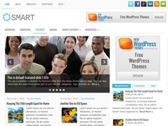 The Smart is fully compatible with the newest version of WordPress and offers an attractive slideshow for showing off your posts and pages. The theme is fully