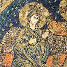 Couronnement de la Très Sainte Vierge - abside de la basilique sainte Marie Majeure à Rome