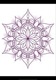 Mandela Flower Tattoo, Mandela Tattoo, Tattoo Sleeve Designs, Flower Tattoo Designs, Flower Tattoos, Simple Mandala Tattoo, Mandala Tattoo Design, Tattoo Femeninos, Body Art Tattoos
