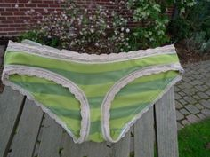 DIY: Make Your Own Panties Tutorial...great way to use up the old t-shirts you never wear....Upcycle Baby!