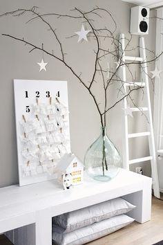 DIY: Haz tus propios adornos navideños low cost y consigue un rincón nórdico así de bonito