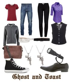 """Venturiantale's Johnny Ghost and Johnny Toast"" by thesweetdangerparade ❤ liked on Polyvore featuring Frame Denim, White Stuff, Ann Demeulemeester, LE3NO, maurices, Golden Goose, John Fluevog, La Preciosa and Converse"