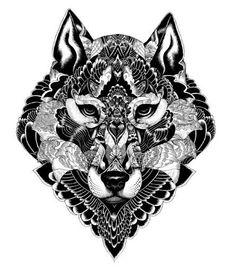 zentagle wolf | images of designer & illustrator iain macarthur artist highlight ...