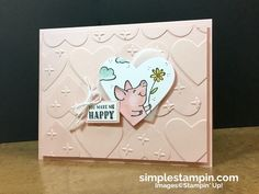 This little piggy is MINE! - Simple Stampin