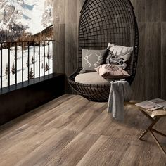 Complete your #cozy #winter look with #wood #porcelain #tile.  #tilestyle #tilewalls #tilefloor #tiletuesday #woodtile #floor #flooring #woodenfloor #ihavethisthingwithfloors #design #tiledesign #interiordesign #architecture #cabin #cabindesign #winterdesign #decor #homedecor #winterdecor #hospitalitydesign by specceramicsinc