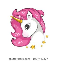 Illustration about Cute magical unicorn. Vector design on white background. Romantic hand drawing illustration for children. Illustration of fashion, imagination, little - 109926207 Unicorn Painting, Unicorn Drawing, Unicorn Art, Magical Unicorn, Rainbow Unicorn, How To Draw Unicorn, White Unicorn, Unicorn Images, Unicorn Pictures
