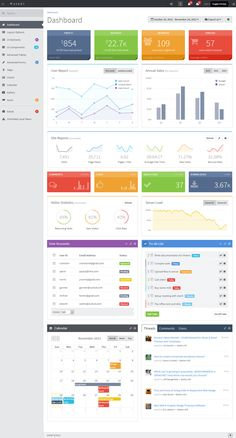 10+ Best Responsive HTML5 Admin Dashboard - Panel Templates in 2013 | Responsive Miracle