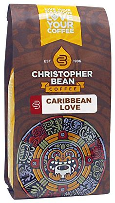 Christopher Bean Coffee Decaffeinated Whole Bean Flavored Coffee, Caribbean Love, 12 Ounce *** Don't get left behind, see this great product : Fresh Groceries