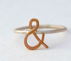 Ampersand Ring