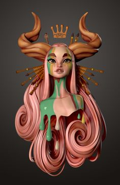 Making Process (Zbrush Sculpting Timelapse) of Muse by Danny Mac DANNY MAC is a Character Artist fro