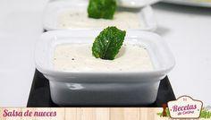 """Salsa de nueces para acompañar platos de pasta o carnes - ¿Por que no habré descubierto antes la salsa de nueces? Esta fantástica salsa, conocida como """"sarsa de noxe"""" o """"sugo di noci"""", es un acompañamiento fantástico para platos de pasta rellena (tortellini, panzerotti, etc) o carnes. Típica de la gastronomía Ligure, en la provi... - http://www.lasrecetascocina.com/2013/11/30/salsa-de-nueces-para-acompanar-platos-de-pasta-o-carnes/"""