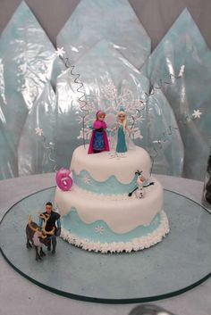 Disney Frozen Birthday Party Ideas | Photo 2 of 37 | Catch My Party