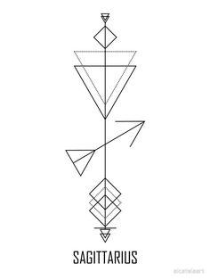 """Sagittarius Astrology - Zodiac Arrow"" Art Print by alcateiaart Sagittarius Tattoo Designs, Taurus Constellation Tattoo, Sagittarius Astrology, Taurus Tattoos, Zodiac Sign Tattoos, Astrology Signs, Astrology Chart, Mini Tattoos, Small Tattoos"