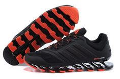 Mens Adidas Springblade Drive 2.0 Black Red 2 Low Price
