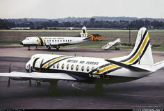 Vickers 806 Viscount aircraft picture