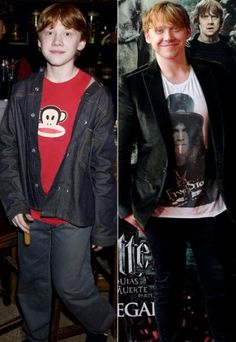 Ron. Before & After. (is it wrong I think he's cute?)