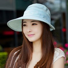 0619139ecd6 Summer visor hat flower pattern removable sun protection hats riding wear