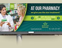 Buy Pharmacy Advertising Bundle by OWPictures on GraphicRiver. Advertising Bundle Description : Pharmacy Advertising Bundle including Flyer design, Billboard design, Roll-Up Signa. Dental Design, Pharmacy Design, Banner Design, Flyer Design, Roll Up Design, Billboard Design, Craft Room Storage, Outdoor Banners, Beauty Packaging
