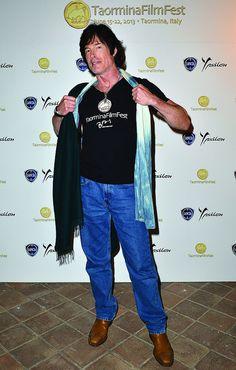 Ronn Moss al Lancia Café durante la 59esima edizione del Taormina Film Fest.