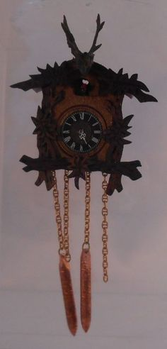 Cuckoo Clock #1 by Hermann Straeten
