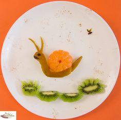 Mandarin Snail        #foods #healthy #kids