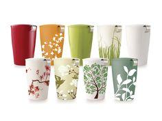 kati cups- thee cups met print, zit een zeefje in voor een mok thee te zetten met losse thee. Vaatwasbestendig
