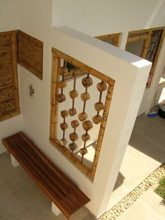 Techo de policarbonato con aplicacion de bambu patios for Cobertizos segunda mano