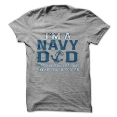 I'm A NAVY DAD T Shirts, Hoodies. Get it now ==► https://www.sunfrog.com/LifeStyle/IM-A-NAVY-DAD.html?57074 $19