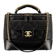 The Première Classe vanity by Chanel ❤ liked on Polyvore featuring bags, chanel, handbags, purses e borse