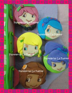 Cupcakes Rosita Fresita