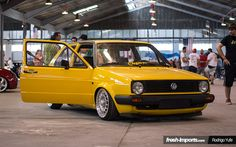 Deutche Post Yellow Mk2 Golf