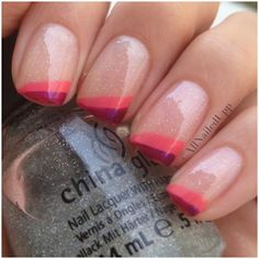 Pink Glitter Manicure!  Come to Beauty Bar & Browz in Ferndale, MI for all of your grooming and pampering needs!  Call (313) 433-6080 to schedule an appointment or visit our website www.beautybarandbrowz.com to learn more about us!