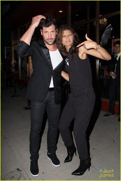 Zendaya Makes Silly Faces with Pal Maksim Chmerkovskiy
