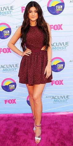 Kylie Jenner at the Teen Choice Awards 2012.