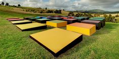 Red Cloud Confrontation Landscape by Leon Van den Ejikel at Gibbs farm in Auckland, NZ