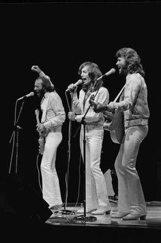 Os Bee Gees foram uma banda formada pelos irmãos Barry, Robin e Maurice Gibb. Nascidos na Ilha de Man. São os artistas que tiveram mais músicas em primeiro lugar nos anos 70 com nove canções no total, estão em segundo lugar entre os artistas com mais canções consecutivas em primeiro lugar com seis músicas, entre 1975 e 1979.