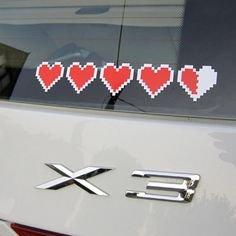 Zelda Container Heart Sticker vintage video game logo decal by Classic NES Zelda. I NEED DIS! Vintage Video Games, Classic Video Games, Retro Video Games, Geek Out, Nerd Geek, Video Game Logos, Window Stickers, Car Stickers, Car Decals