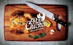 PopChicken Gourmet Express // Identity on Behance